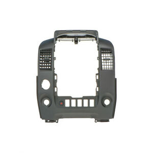 014 2015 Nissan Titan Center Console Finish Instrument Trim Bezel Gray Oem New