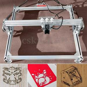 3000mw Laser Engraving Engraver Cutting Machine Logo Printer Diy Kit 50x65cm