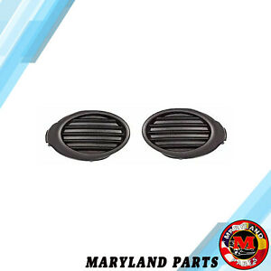 2012 2014 Ford Focus Right Left Front Bumper Fog Light Hole Covers Set