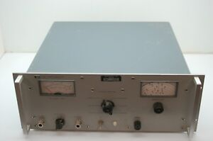 Hp 230b Signal Generator Power Amplifier Power On Tested 10 500 Mhz Unit A