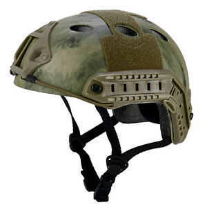 Milsim Tactical Airsoft Paintball Fast Protective Helmet SWAT Police Bump Type