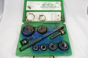 Greenlee 7238sb Slug buster Knockout Kit With Ratchet Wrench