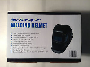 Sellstrom 25711 Auto darkening Filter Welding Helmet