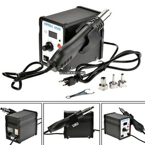 858d Soldering Station Iron Solder Hot Air Gun Rework Station
