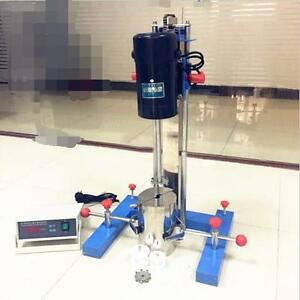 400w High speed Disperser Mixer For Lab Use Multi purpose Machine 220v T
