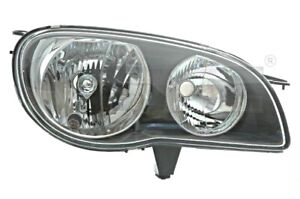 Headlight Front Lamp Fits Right Toyota Corolla Sedan Wagon 1999 2002 Facelift
