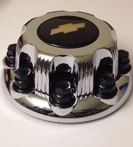 1new Chevy Silverado 2500 3500 8 Lugs Hub Center Cap 8 1 2 Chrome Replacement