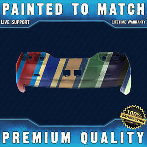 New Painted To Match Rear Bumper Cover For 2010 2011 2012 2013 Chevrolet Camaro