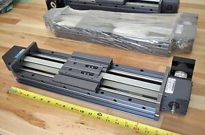 New Thomson 2rem12 X450mm Super slide Linear Actuator Belt drive Nema true Nt23
