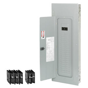 Eaton 200 amp 40 space 50 circuit Main breaker Box Indoor Home Electrical panel