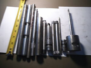 Lot Of 12 Machine Machinist Tooling Machine Shop Tools Used