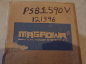 Magpowr Sofstep Magnetic Particle Clutch Psb1590v New 121396