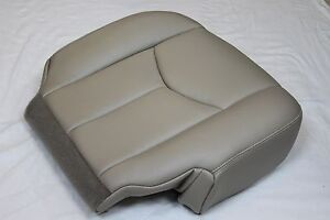 2003 2004 2005 2006 Chevy Suburban Tahoe Ls Lt Front Driver Seat Cover Light Tan