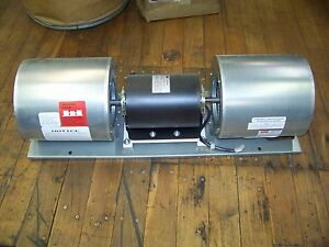 Dayton Motor Blower Assembly Air Curtain Blower 460v 3phase 1hp 1725rpm 60hz