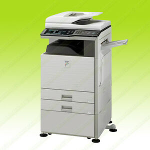 Sharp Mx 2600n Color Tabloid Printer Copier Scanner Network All in one 26ppm