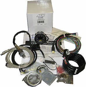 Aem 30 4900 Digital Wideband Uego Air Fuel Boost Gauge Failsafe All In One New