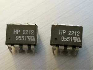 Hcpl 2212 Low Input Current Logic Gate Opto Coupler Hp 10 Pieces