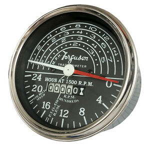 New Massey Ferguson To20 To30 Tachometer Replaces Mf 1751312m1 1751314m91