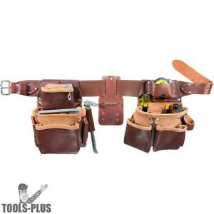 Medium Tool Belt Pro Framer W Double Outer Bag Occidental Leather 5080db m New