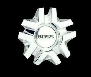 Brand New Boss Motorsports 327 Chrome Wheel Rim Center Cap 3206 Made In Korea