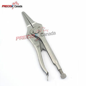Or Grade Needle Nose Locking Pliers 9 3 4 Surgical Orthopedic Instruments