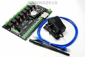Io88 Wifi Networking Relay Board 8 Inputs And 8 Outputs Remote Control adapter