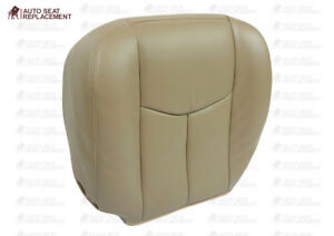 2003 2004 2005 2006 Gmc Sierra 1500hd 2500hd Slt Passenger Bottom Seat Cover Tan