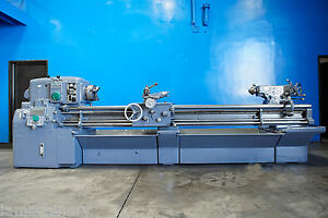 16 Swing X 102 Center Monarch Engine Lathe Metal Turning Machine Taper 10hp