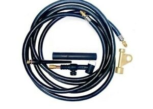 Wp17v 25r Tig Welding Torch Compatible With Weldcraft With Valve Head 25ft
