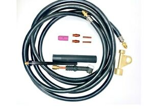 Wp9 25r Tig Welding Torch Compatible With Weldcraft 25ft