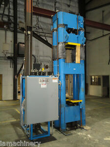 Beckwood Four Post Hydraulic Powder Compaction Press 110 Ton 6679p