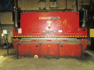 175 Ton X 14 Niagara Cnc Hydraulic Press Brake Metal Bender