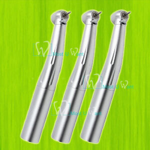 3pcs Dental Optic Head Lab Push Handpiece 3spray Fit Kavo Quick Coupler Swivel