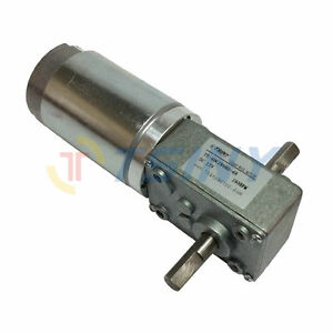 12volt 160rpm High Speed Drive Worm Geared Motor With Dual Double Shaft Output
