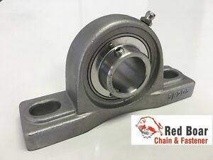 qty 10 Sucsp205 16 1 Stainless Steel 2 Bolt Pillow Block Bearing