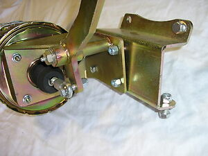 1947 54 Chevy Truck 7 Dual Power Brake Booster Bracket Pedal Assembly No Master