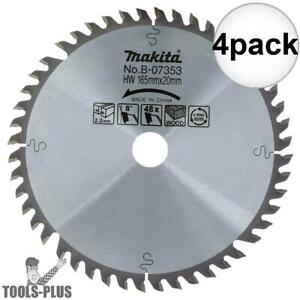 4pk 6 1 2 48 Tooth Circular Saw Blade Makita B 07353 New