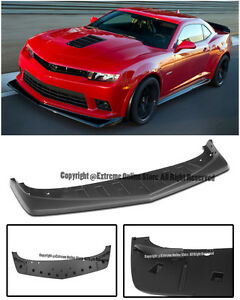 For 14 15 Chevrolet Camaro Ss Z28 Style Front Bumper Lip Splitter Lower Valance