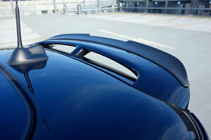 Mini R56 S Jcw 100 Limited Euro Hatch Rear Roof Spoiler Extension Lip Wing Trim