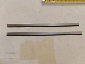 A Pair Of 16 X 3 4 X 5 32 Hss Jointer Knives Set Of 2 New