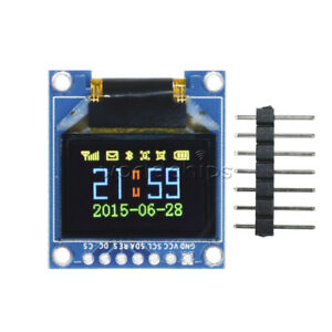 Ssd1331 0 95 Inch 7pin Full Color 65k Color Spi Oled Display Module For Arduino