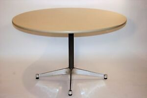 Ray And Charles Eames Mid Century Modern Contract Base Dining Work Table