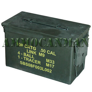 50 CAL. Ammo Can Surplus Stenciled $22.58