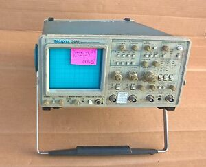 Tektronix 2465 300 Mhz Analog 4 Channel Oscilloscope
