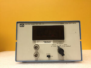 Clarke Hess 273a 20 Ohm C 5000 Pf Capacitance Digital Display Esr Meter