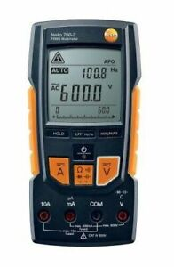 Testo 760 2 Digital Multimeter With Capacitance Trms Temperature Lpf