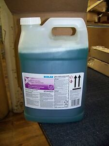 Ecolab Neutral Enzymatic Detergent Concentrate 2 5gal 2 Each