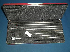 Starrett 124 Machinist 1 1 2 12 Depth Micrometer