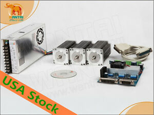 Usa Eu Nema 23 Stepper Motor 1 9n m 270oz in 4lead Cnc Factory Directly 3days