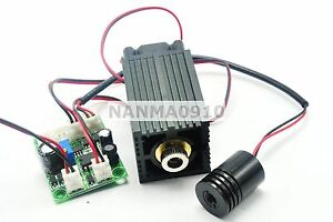 12v Industrial High Power 200mw 650nm Red And 50mw 532nm Green Laser Dot Module